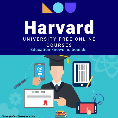 Harvard University free online courses